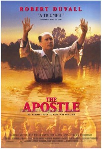 """Is it okay to baptize yourself? Duvall's character Sonny did it in """"The Apostle."""""""